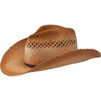 サンディエゴハットカンパニー カウボーイハット レディース【San Diego Hat Company Cowboy Hat w/ Leathe