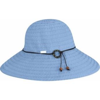 ベトマール 帽子 ハット 日除け帽子 レディース【Betmar Coconut Ring Safari】Periwinkle
