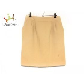 アドーア ADORE スカート サイズ38 M レディース 美品 ライトブラウン           スペシャル特価 20191102