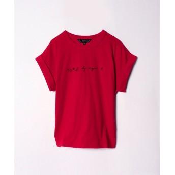 agnes b. アニエスベー ロゴTシャツ レディース 4056W984H18