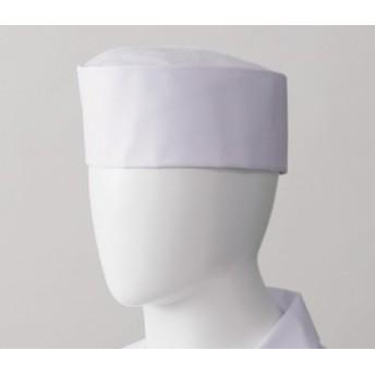 3 天メッシュ丸帽 ホワイト(厨房 調理 白衣 サンペックス) ポリエステル65%+綿35% ツイル