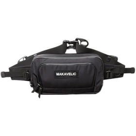 マキャベリック(MAKAVELIC) メンズ レディース ウエストバッグ ブラック DA MOVE WAISTBAG 3107-10302 誕生日 プレゼント ボディバッグ ウエストポーチ