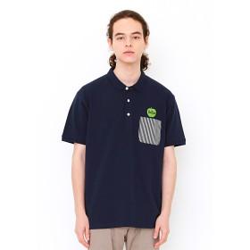 グリーン アップル ロゴ (ザ ビートルズ ショート スリーブ ポロ シャツ)