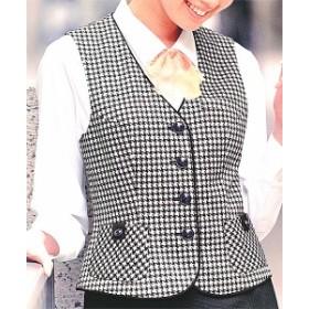 S-03550 ベスト ブラック 全1色 (セロリー SELERY クレッセ 事務服 制服)