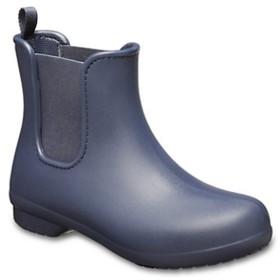 レディース 長靴 Women s Crocs Freesail Chelsea Boot(W8:24.0cm/Navy×Navy) 204630