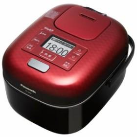 パナソニック SR-JX058-K(豊穣ブラック) おどり炊き 可変圧力IHジャー炊飯器 3合