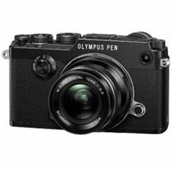 ●◆OLYMPUS ミラーレス一眼カメラ「PEN-F」12mmF2.0 レンズキット(ブラック) PEN-F-L12KIT