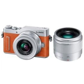 パナソニック Panasonic DC-GF90W-D ダブルレンズキット ミラーレス一眼カメラ ルミックス GF90 オレンジ 新品 送料無料