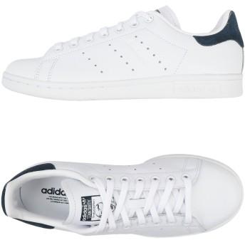 《セール開催中》ADIDAS ORIGINALS レディース スニーカー&テニスシューズ(ローカット) ブルーグレー 5.5 革 Stan Smith W