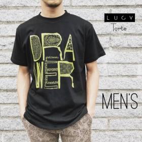 《Men's》 DRAWER Tee【BLACK】