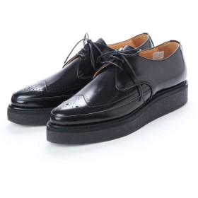 ディガウト DIGOUT REE (Pointed Toe Rubber Sole Shoes) (BLACK)
