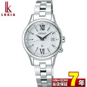 トートバッグ付 LUKIA ルキア SEIKO セイコー 電波ソーラー SSVV035 ペア レディース 腕時計 国内正規品 白 ホワイト 銀 シルバー