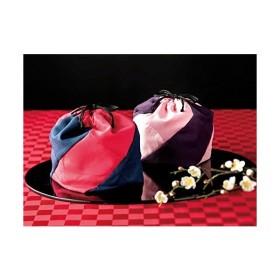 〜祝袋〜かつお節・お茶漬けギフトセット 桃巾着(本枯節3袋・うめ茶漬け・のり茶漬け・海苔玉ふりかけ・わかめスープ各2袋)計11袋入り【結婚式 引出物