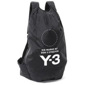 Y-3 ワイスリー DQ0629 YOHJI BACKPACK コラボ バックパック リュック デイパック ナイロン バッグ カラーBLACK/NOIR メンズ