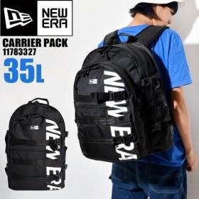 リュック 大容量 NEWERA ニューエラ 通勤 通学 メンズ レディース リュックサック 35L 黒 ブラック ロゴ 3ポケット 11783327
