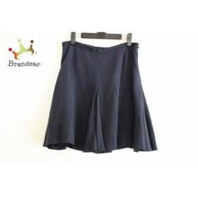 ドゥロワー Drawer スカート サイズ38 M レディース ネイビー           スペシャル特価 20190805