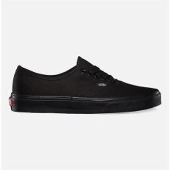 バンズ スニーカー シューズ 靴 レディース【VANS Authentic Black & Black Shoes】 BLKBL