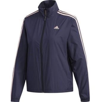 adidas(アディダス) W ESS 3ストライプウィンドジャケット マルチスポーツ ウインドウェア FKK05-DN1391