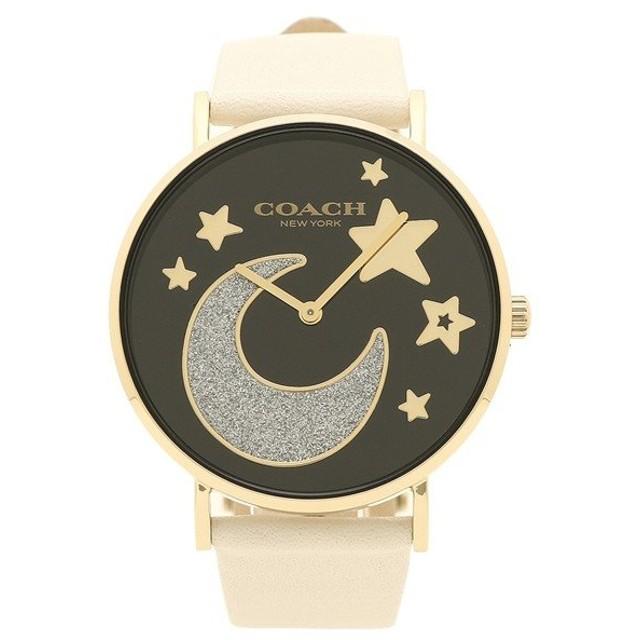 9b005797f6b7 コーチ 腕時計 レディース COACH 14503041 ホワイト ブラック イエローゴールド