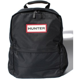 ハンター ORIGINAL NYLON BACKPACK ユニセックス ブラック メーカー指定サイズ 【HUNTER】