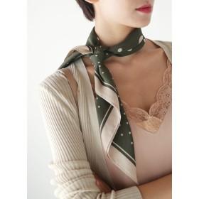 ○雑誌掲載商品○マルチドットスカーフ・全6色・d53818