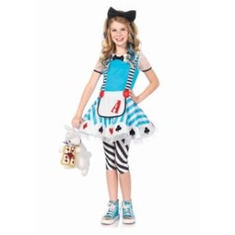売り切り即納 子供用 ハートのアリス3点セット 3~12歳 C48150 衣装 コスプレ コスチューム