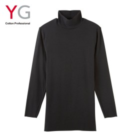 GUNZE グンゼ YG(ワイジー) ハイネックシャツ(メンズ)【SALE】 オフホワイト L