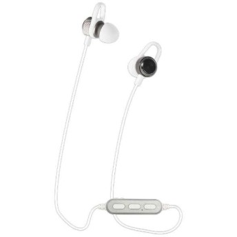 オウルテック OWL-BTEP06-WH マグネット付きカナル式 ワイヤレスイヤホン Bluetooth4.2 IPX4準拠 ホワイト