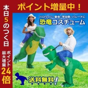 恐竜 コスプレ ハロウィン 宴会 学園祭 パレード用 着ぐるみ おもしろ コスチューム 衣装セット 男女兼用 フリーサイズ