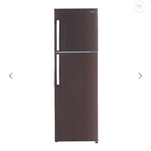 禾聯 HERAN  HRE-B3581V (B) 344L 變頻雙門窄身電冰箱  木紋棕