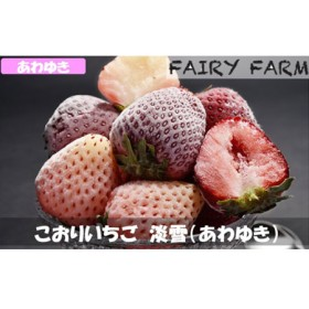【数量限定!】こおりいちご 1kg 品種:淡雪(あわゆき)