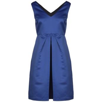 《セール開催中》1-ONE レディース ミニワンピース&ドレス ブルー 44 ポリエステル 100%