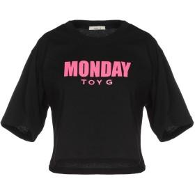 《期間限定セール開催中!》TOY G. レディース T シャツ ブラック XS コットン 100%