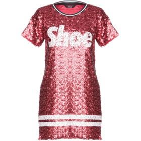 《期間限定 セール開催中》SHOESHINE レディース T シャツ レッド S コットン 100% / ポリエステル