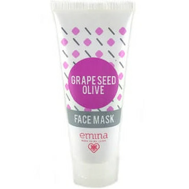 EMINA GRAPESEED OLIVE FACE MASK 60 ML: Rp 75.000 Rp 53.000