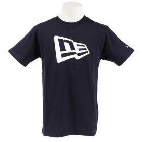 ニューエラ(NEW ERA) フラッグロゴ コットンTシャツ 11782997 (Men's)