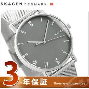 スカーゲン 腕時計 メンズ シグネチャー 40mm クオーツ SKW6428 グレー SKAGEN 時計