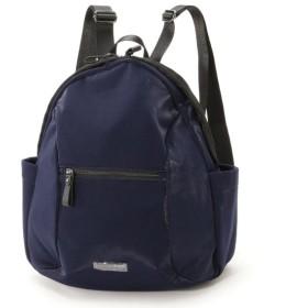 バッグ カバン 鞄 レディース リュック キラキラ素材がアクセントリュックサック カラー ネイビー
