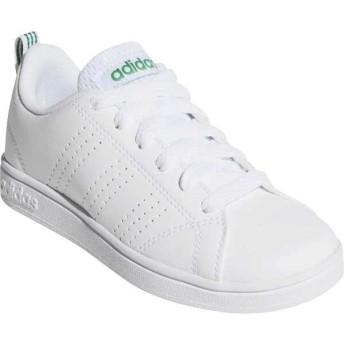 アディダス ADIDAS VALCLEAN2 K ジュニア [サイズ:20.5cm] [カラー:ランニングホワイト×グリーン] #AW4884