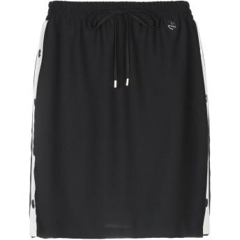 《期間限定セール開催中!》MANGANO レディース ミニスカート ブラック L 100% ポリエステル