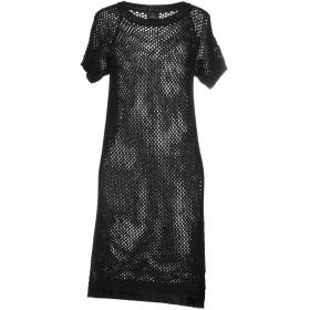 《セール開催中》GOTHA レディース ミニワンピース&ドレス ブラック 0 アクリル 45% / バージンウール 45% / ポリエステル 10%