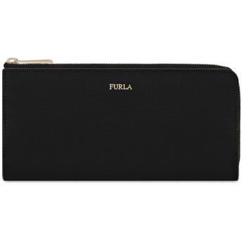 《セール開催中》FURLA レディース 財布 ブラック 革 100% BABYLON XL BI-FOLD W/ZIP L
