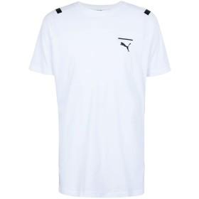 《セール開催中》PUMA メンズ T シャツ ホワイト S コットン 100% Pace Tee
