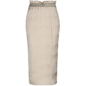 《期間限定セール開催中!》KATIA GIANNINI レディース 7分丈スカート サンド 44 ポリエステル 100%