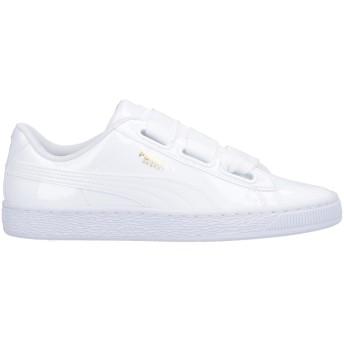 《期間限定 セール開催中》PUMA レディース スニーカー&テニスシューズ(ローカット) ホワイト 7.5 紡績繊維