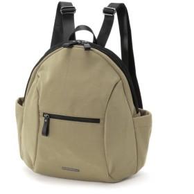 バッグ カバン 鞄 レディース リュック キラキラ素材がアクセントリュックサック カラー カーキ