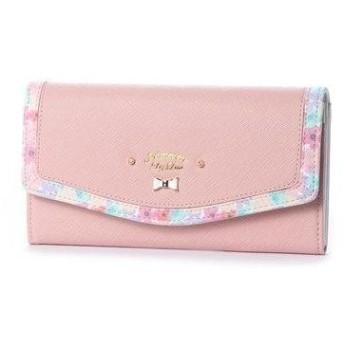 プリムヴェールリズリサ Primevere LIZ LISA メイプル 花柄フレーム長財布 (ピンク)