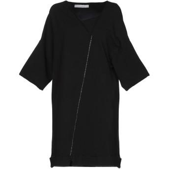 《セール開催中》NOSTRASANTISSIMA レディース スウェットシャツ ブラック S 94% コットン 6% ポリウレタン