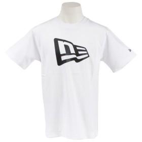 ニューエラ(NEW ERA) フラッグロゴ コットンTシャツ 11782996 (Men's)