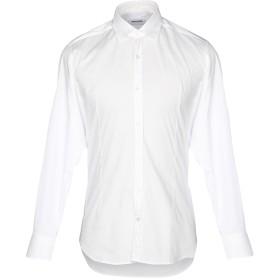 《セール開催中》TAKESHY KUROSAWA メンズ シャツ ホワイト S コットン 97% / ポリウレタン 3%